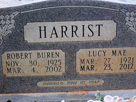 HARRIST, LUCY MAE - Miller County, Arkansas | LUCY MAE HARRIST - Arkansas Gravestone Photos