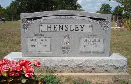HENSLEY,JR, GEORGE W - Miller County, Arkansas | GEORGE W HENSLEY,JR - Arkansas Gravestone Photos
