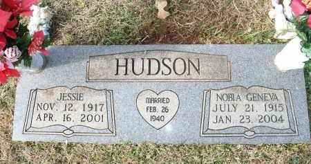 HUDSON, NOBIA GENEVA - Miller County, Arkansas | NOBIA GENEVA HUDSON - Arkansas Gravestone Photos
