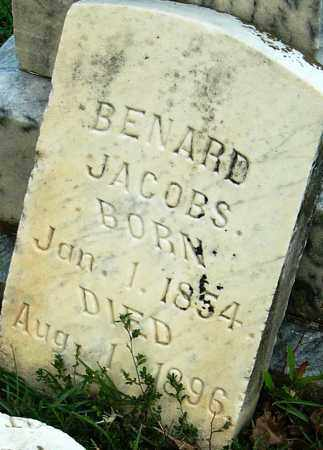 JACOBS, BENARD - Miller County, Arkansas | BENARD JACOBS - Arkansas Gravestone Photos