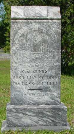 JONES, B. J. - Miller County, Arkansas   B. J. JONES - Arkansas Gravestone Photos