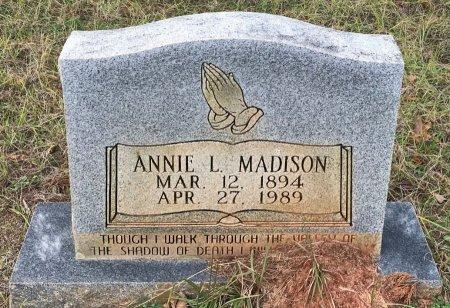 ALLEN MADISON, ANNIE L - Miller County, Arkansas | ANNIE L ALLEN MADISON - Arkansas Gravestone Photos