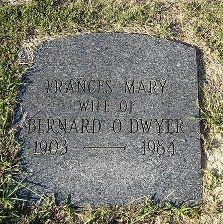 O'DWYER, FRANCES MARY - Miller County, Arkansas   FRANCES MARY O'DWYER - Arkansas Gravestone Photos
