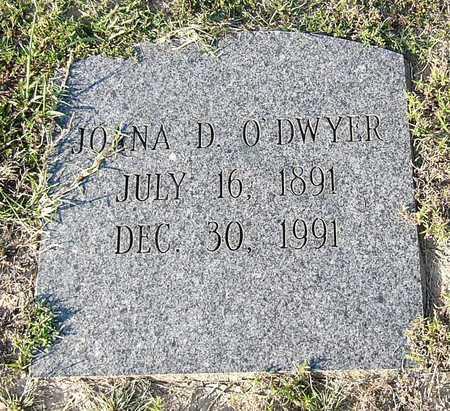 O'DWYER, JOANA D. - Miller County, Arkansas | JOANA D. O'DWYER - Arkansas Gravestone Photos