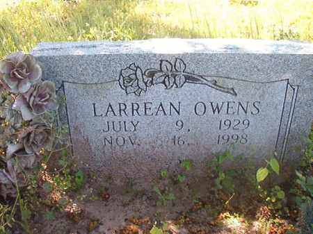 OWENS, LARREAN - Miller County, Arkansas | LARREAN OWENS - Arkansas Gravestone Photos