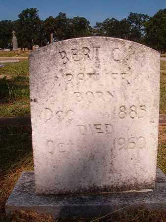 RATLIFF, BERT C - Miller County, Arkansas | BERT C RATLIFF - Arkansas Gravestone Photos