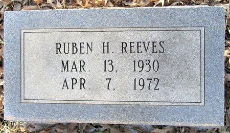 REEVES, RUBEN H - Miller County, Arkansas | RUBEN H REEVES - Arkansas Gravestone Photos