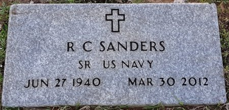 SANDERS (VETERAN), R C  - Miller County, Arkansas | R C  SANDERS (VETERAN) - Arkansas Gravestone Photos