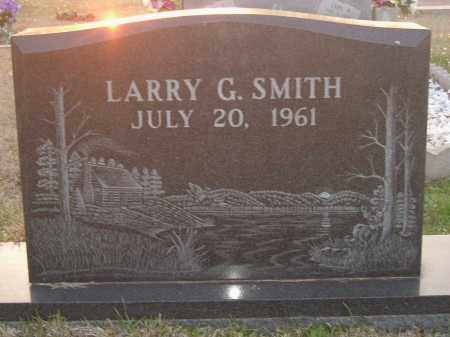 SMITH, LARRY - Miller County, Arkansas | LARRY SMITH - Arkansas Gravestone Photos