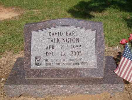 TALKINGTON, DAVID EARL - Miller County, Arkansas | DAVID EARL TALKINGTON - Arkansas Gravestone Photos