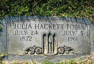 TOBIN, JULIA - Miller County, Arkansas | JULIA TOBIN - Arkansas Gravestone Photos