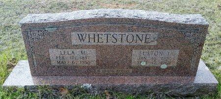 EVERS WHETSTONE, LELA M - Miller County, Arkansas | LELA M EVERS WHETSTONE - Arkansas Gravestone Photos