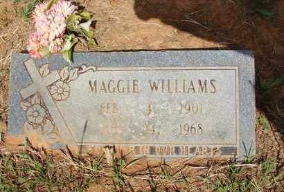 WILLIAMS, MAGGIE - Miller County, Arkansas | MAGGIE WILLIAMS - Arkansas Gravestone Photos
