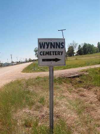 *WYNNS, CEMETERY - Miller County, Arkansas   CEMETERY *WYNNS - Arkansas Gravestone Photos