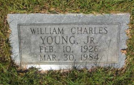 YOUNG, JR, WILLIAM CHARLES - Miller County, Arkansas | WILLIAM CHARLES YOUNG, JR - Arkansas Gravestone Photos