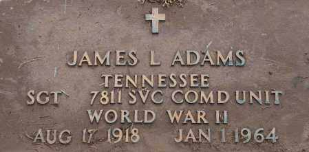 ADAMS  (VETERAN WWII), JAMES  L - Mississippi County, Arkansas   JAMES  L ADAMS  (VETERAN WWII) - Arkansas Gravestone Photos