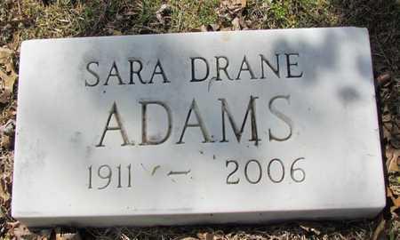 ADAMS, SARAH - Mississippi County, Arkansas   SARAH ADAMS - Arkansas Gravestone Photos