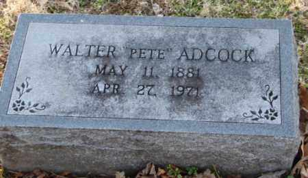 """ADCOCK, WALTER """"PETE"""" - Mississippi County, Arkansas 