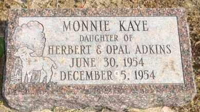 ADKINS, MONNIE KAYE - Mississippi County, Arkansas   MONNIE KAYE ADKINS - Arkansas Gravestone Photos
