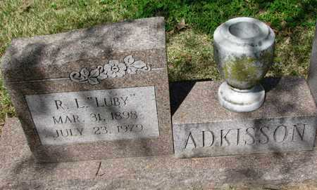 """ADKISSION, R L """"LUBY"""" - Mississippi County, Arkansas 