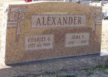 ALEXANDER, CHARLES G. - Mississippi County, Arkansas | CHARLES G. ALEXANDER - Arkansas Gravestone Photos