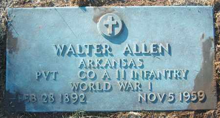 ALLEN (VETERAN WWI), WALTER - Mississippi County, Arkansas | WALTER ALLEN (VETERAN WWI) - Arkansas Gravestone Photos