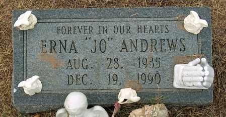 ANDREWS, ERNA - Mississippi County, Arkansas | ERNA ANDREWS - Arkansas Gravestone Photos