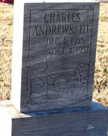 ANDREWS, III, CHARLES - Mississippi County, Arkansas   CHARLES ANDREWS, III - Arkansas Gravestone Photos