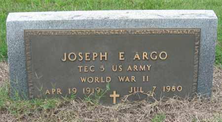 ARGO (VETERAN WWII), JOSEPH E - Mississippi County, Arkansas   JOSEPH E ARGO (VETERAN WWII) - Arkansas Gravestone Photos
