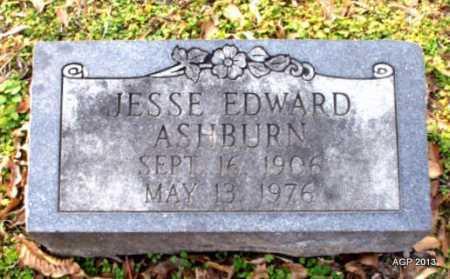 ASHBURN, JESSE EDWARD - Mississippi County, Arkansas | JESSE EDWARD ASHBURN - Arkansas Gravestone Photos