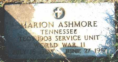 ASHMORE (VETERAN WWII), MARION - Mississippi County, Arkansas | MARION ASHMORE (VETERAN WWII) - Arkansas Gravestone Photos