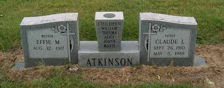 ATKINSON, CLAUDE L - Mississippi County, Arkansas | CLAUDE L ATKINSON - Arkansas Gravestone Photos