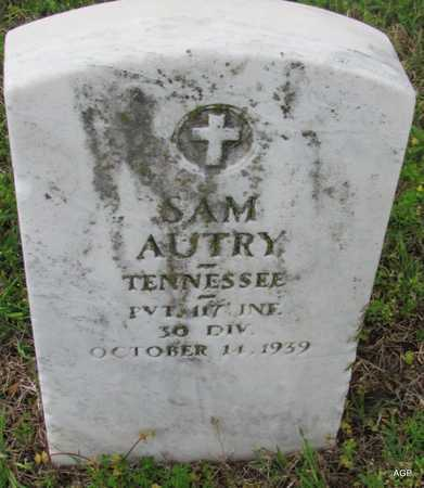 AUTRY (VETERAN WWI), SAM - Mississippi County, Arkansas | SAM AUTRY (VETERAN WWI) - Arkansas Gravestone Photos
