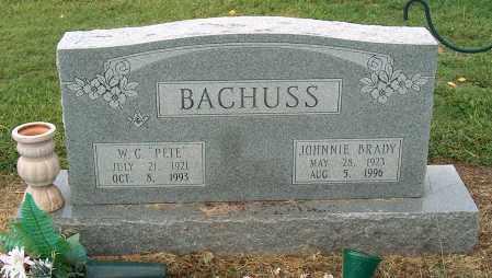 BACHUSS, JOHNNIE - Mississippi County, Arkansas | JOHNNIE BACHUSS - Arkansas Gravestone Photos