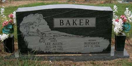BAKER, LEE ALLEN - Mississippi County, Arkansas | LEE ALLEN BAKER - Arkansas Gravestone Photos