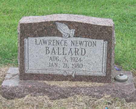 BALLARD, LAWRENCE NEWTON - Mississippi County, Arkansas   LAWRENCE NEWTON BALLARD - Arkansas Gravestone Photos
