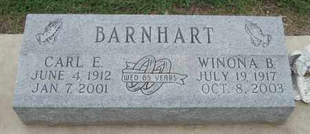 BARNHART, WINONA B - Mississippi County, Arkansas | WINONA B BARNHART - Arkansas Gravestone Photos