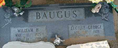 BAUGUS, WILLIAM H - Mississippi County, Arkansas | WILLIAM H BAUGUS - Arkansas Gravestone Photos