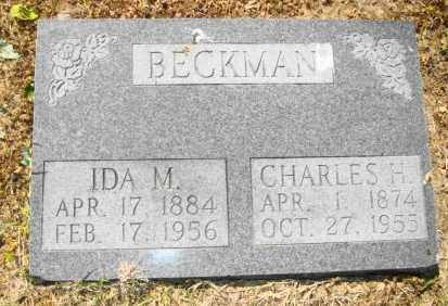 BECKMAN, IDA M - Mississippi County, Arkansas | IDA M BECKMAN - Arkansas Gravestone Photos