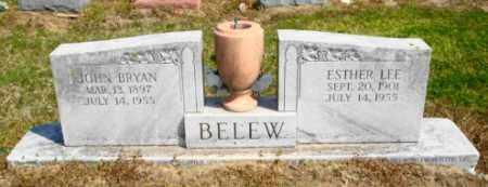 BELEW, ESTHER LEE - Mississippi County, Arkansas | ESTHER LEE BELEW - Arkansas Gravestone Photos