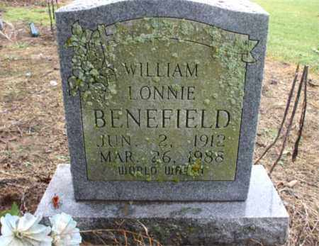 BENEFIELD, WILLIAM LONNIE - Mississippi County, Arkansas | WILLIAM LONNIE BENEFIELD - Arkansas Gravestone Photos