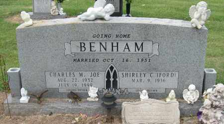 BENHAM, CHARLES M JOE - Mississippi County, Arkansas   CHARLES M JOE BENHAM - Arkansas Gravestone Photos