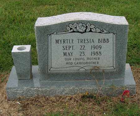 BIBB, MYRTLE TRESIA - Mississippi County, Arkansas | MYRTLE TRESIA BIBB - Arkansas Gravestone Photos