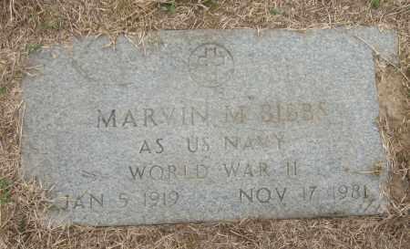 BIBBS (VETERAN WWII), MARVIN M - Mississippi County, Arkansas | MARVIN M BIBBS (VETERAN WWII) - Arkansas Gravestone Photos