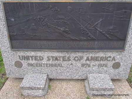 *BICENTENNIAL, MEMORIAL (CLOSE UP) - Mississippi County, Arkansas | MEMORIAL (CLOSE UP) *BICENTENNIAL - Arkansas Gravestone Photos