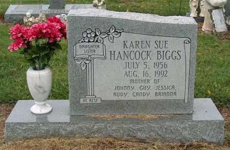 BIGGS, KAREN SUE - Mississippi County, Arkansas | KAREN SUE BIGGS - Arkansas Gravestone Photos