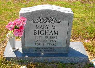 BIGHAM, MARY M - Mississippi County, Arkansas | MARY M BIGHAM - Arkansas Gravestone Photos