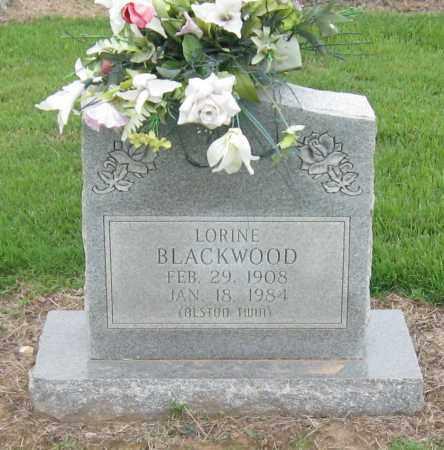 BLACKWOOD, LORINE - Mississippi County, Arkansas | LORINE BLACKWOOD - Arkansas Gravestone Photos