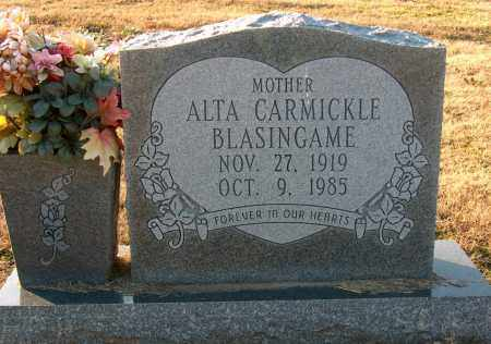 CARMICKLE BLASINGAME, ALTA - Mississippi County, Arkansas | ALTA CARMICKLE BLASINGAME - Arkansas Gravestone Photos