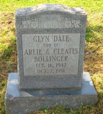 BOLLINGER, GLYN DALE - Mississippi County, Arkansas | GLYN DALE BOLLINGER - Arkansas Gravestone Photos